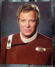 Star Trek Generations Captain James T Kirk 8 X 10 Glossy Classico Photo Postcard