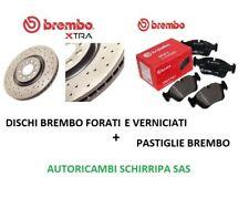 DISCHI E PASTIGLIE ANTERIORI BREMBO FORATI ALFA ROMEO 147 1.9 JTD 1.9 JTDM