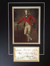 THOMAS BRUCE - 7th EARL OF ELGIN - ELGIN MARBLES - SIGNED COLOUR DISPLAY