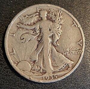 USA 1935 S Walking Liberty Half Dollar - Silver