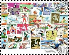 Sports : 200 Different Stamps Collection