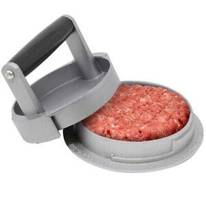 Stampo per Hamburgher Regolabile 110/150/220gr Pressa Carne Macinata Alluminio