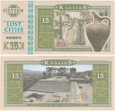 Greece - Minoan - Knossos - 15 Lost Cities 2016 UNC Private Issue Banknote