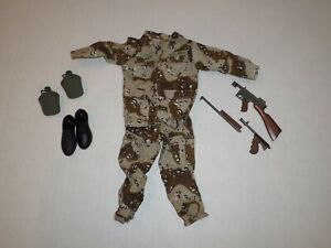 """Gi Joe Ultimate Soldier Lot 5 Of Clothes And Accessories For 12"""" Action Figure"""