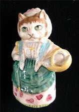 COUSIN RIBBY CAT FIGURINE BEATRIX POTTER ROYAL ALBERT ENGLAND 1989 F WARNE & CO