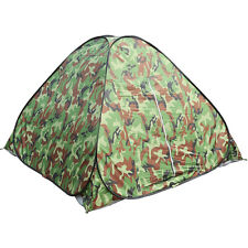 Waterproof 3-4 People Automatic Instant Pop Up Tent Camouflge Camping Hiking