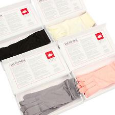 Pure Silk Liner Gloves Women Elegant Raw Silk Gloves White Lotus Anti Aging