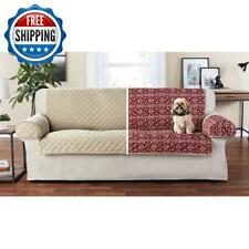 Set 3 Pieces Sofa Cover Reversible Furniture Protector Cushion Microfiber Pets