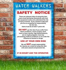 Water Walkers, Disco Dome, Inflatable Safety Sign, Parties