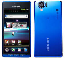 DOCOMO SHARP SH-01D 12.1MP FULL HD 3D UNLOCKED BLUE ANDROID SMARTPHONE SH-06D