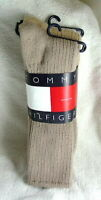 TOMMY HILFIGER Assorted Colors Cotton Socks 3 Pairs Mens size 10-13 NEW  NWT