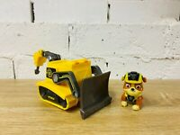 Mission Paw Rubble Action Figure Bulldozer Drill Car Truck PAW Patrol Vehicle