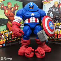 "Marvel Select DST X-Men Juggernaut Captain America 9"" Action Figure New in Stock"