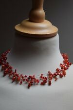 Cluster Strands Beads Clearance Unbranded Red Stone Necklace
