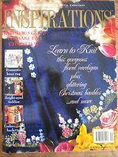 ~INSPIRATIONS Embroidery Smocking Magazine Issue # 12 - 1996 - VGC~