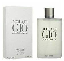 Acqua Di Gio 6.7 Oz Giorgio Armani Eau De Toilette Cologne Spray New & Sealed