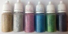 glitter puffer bottles X 6 HOL LIGHTS cosmetic glitter tattoo kit facepaint