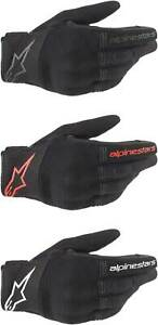 Alpinestars Copper Gloves - Motorcycle Street Riding Mens Textile Touch Screen