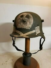 WWI German M16 Camo Freikorp Helmet