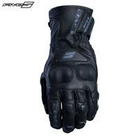Five RFX4 Impermeable Aislado Aislamiento Térmico Cuero Guantes para Motocicleta
