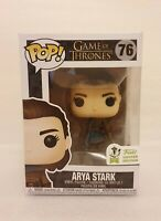 Funko Pop Vinyl Arya Stark #76 - Game Of Thrones Limited Edition ECCC Free Post