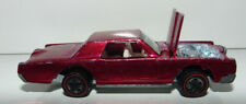 Hot Wheels Redline Custom Continental Mark Iii Rose Hw Pink Rare Color 1968 Us
