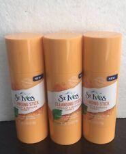 3 St. Ives Detox Me Daily Cleansing Sticks  , Apricot & Manuka Honey.1.6 Oz