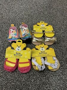 Bundle Of Build A Bear Girls Shoes And Roller Skates