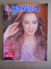 IL MONELLO n°25 1977 Eleonora Giorgi Fred Bongusto Giuseppe Damiani   [G486]
