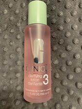 Clinique Clarifying Lotion 3 Twice a Day Exfoliator Combination Oily 6.7oz 200ml