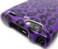 For Motorola DROID RAZR MAXX HARD Case Snap On Phone Cover Purple Leopard