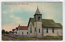 McLEOD AVENUE, LOOKING WEST, MELFORT: Saskatchewan Canada postcard (C12461)