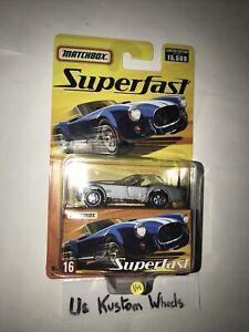 1:64 - MATCHBOX Superfast 1965 Shelby Cobra 427 S/C 🇫🇷en édition limitée