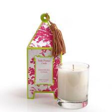 Seda France Classic Toile Pagoda Box Candle, Grandiflora Citrine, 2 Ounce