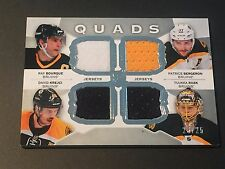 Ray Bourque/ Bergeron/ Tuukka Rask/Krejci 2015 UD The Cup 4-Jersey #/25 Bruins