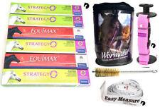 Premium One Year Horse Wormer Rotation Pack + Wormabit Pink + Weight Tape