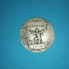 Médaille argent massif 1er titre Société d'Enseignement Professionnel du Rhone
