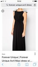 BNWT Forever Unique Embellished Shoulder Full Length Dress Size 12