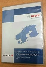 Skandinavien / Norden Navi CD-Rom für Blaupunkt E(EX)2015
