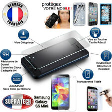 Protection d'Ecran en Verre Trempé Contre les Chocs pour Samsung Galaxy S5 Mini