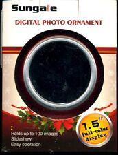 Sungale digital Photo Christmas Ornament  -NIB