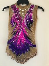 Rhythmic Gymnastic Leotard size 10-12 Pre Owned
