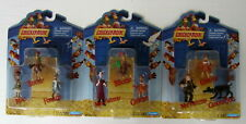 2000 Playmates Toys Dreamworks Studio Chicken Run Collectible Figures Lot of 3