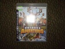 PLAYSTATION 3 CABELA'S OUTDOOR ADVENTURES USED UNTESTED