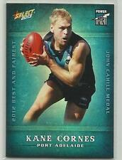 2013 AFL CHAMPIONS BF13 Kane Cornes Port Adelaide Power Best and Fairest CARD