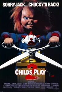 CHILD'S PLAY 2 - CLASSIC MOVIE POSTER 24x36 - CHUCKY 53221
