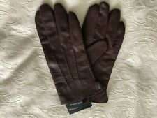 Men's Leather Gloves - Lined - Brown - Size XL - BNWT