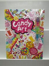 Candy Art Doodle Book (Comes with Candy-Themed Pen)