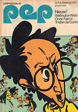 PEP 1971  nr. 07 - DORUS (TOM MANDERS) / DATSUN 2402 SPORTS / VARIOUS COMICS