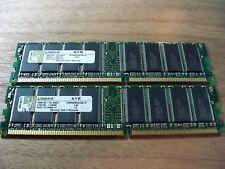 2GB PC3200 DDR Memory for Dell Optiplex GX260 GX270 SX270 (2x1GB Memory Modules)